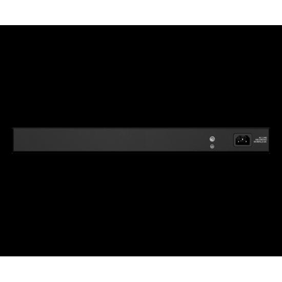 سوییچ 24 پورت مگابیتی، غیر مدیریتی و رکمونت دی-لینک مدل ِDES_1026_G با دو پورت گیگابیتی