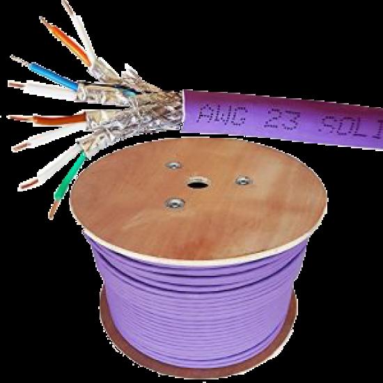 کابل شبکه   Cat 6 SFTP Outdoor گیگانت تست فلوک به طول 305 متر